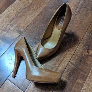 ALDO Tan Pumps Size 38